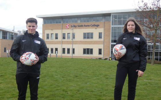 Sport ESFA Ambassadors Ella and Matty