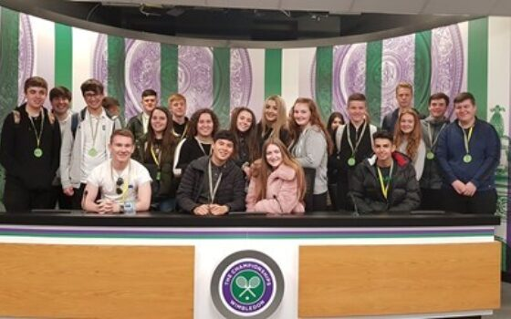 Selbycollegebusinesswimbledontrip2018
