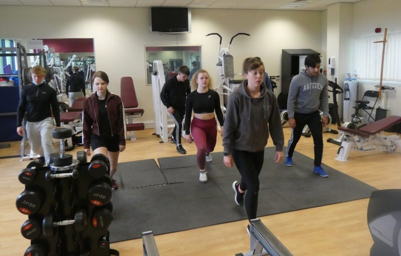 Sophie Dales Fitness Class