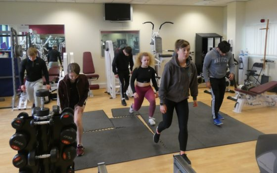 Sophie Dales Fitness Class 1