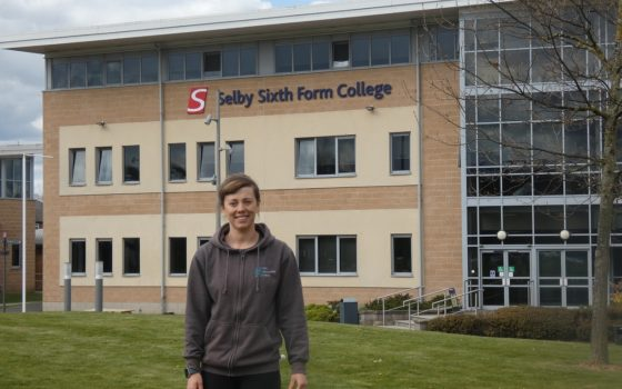 Sophie Dales at Selby College