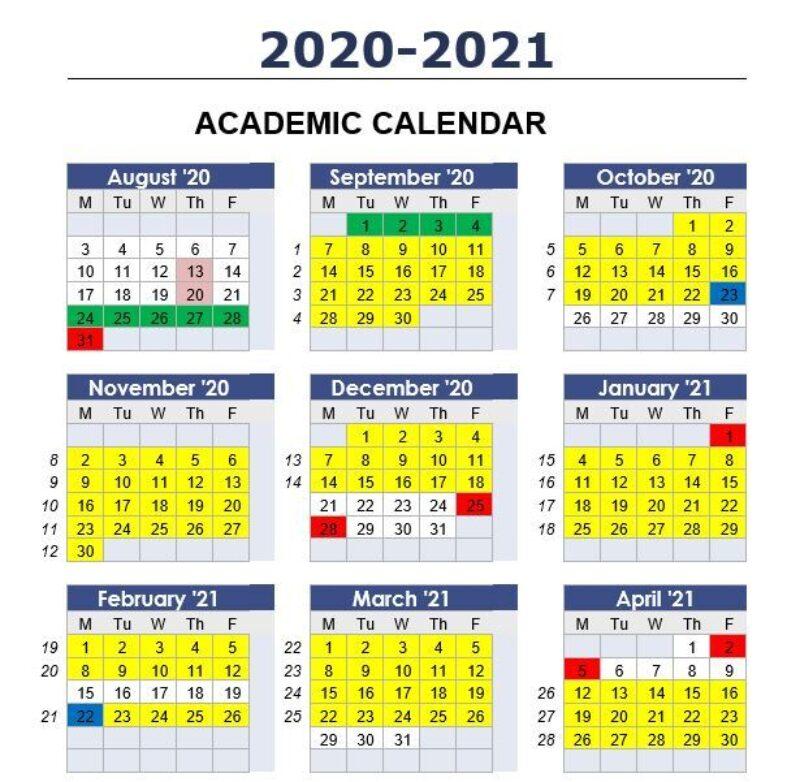 2020 21 term dates