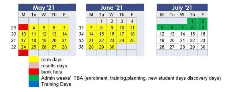 2020 term dates 2