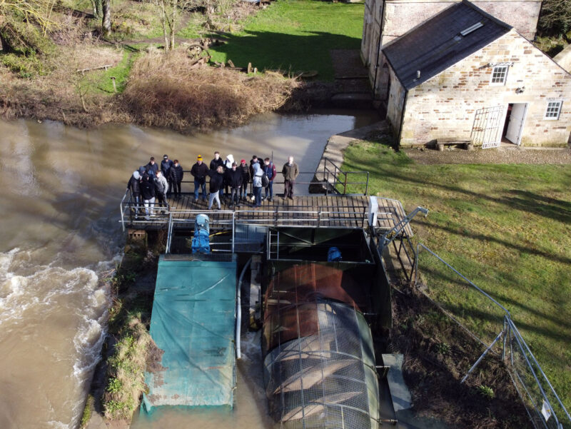 Group Drone Shot Howsham Mill